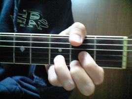 ギターコード D